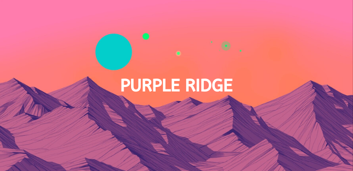 Purple ridge
