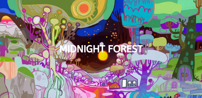 Midnight forest